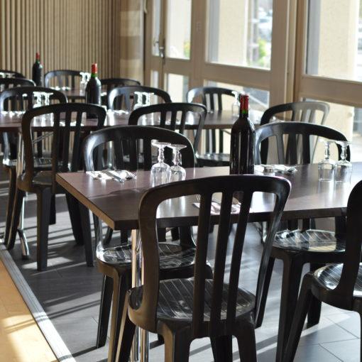 espérance hotel restaurant bar vitré